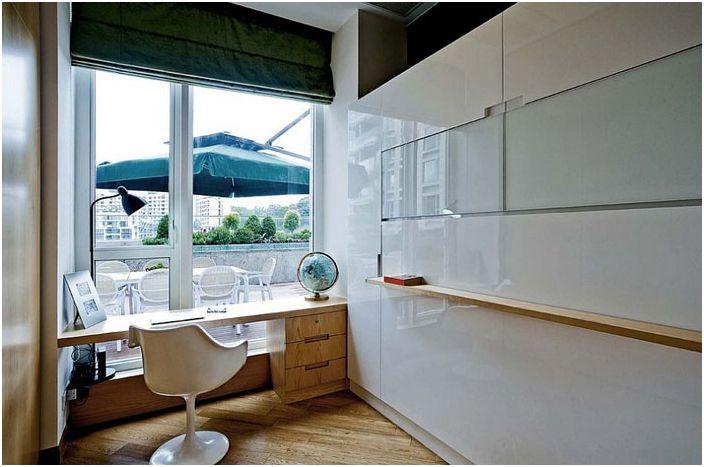 Малък интериорен офис от Louis Lau