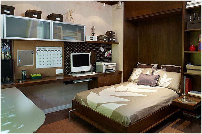 Офис интериор за спалня от ЕМИ Интериорен дизайн
