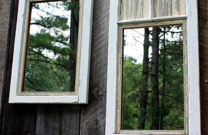 Зеркала для создания иллюзии пространства в саду