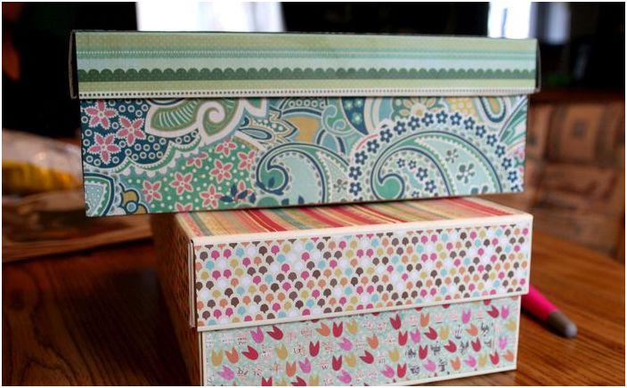 Не е нужно да сте декоратор, за да украсите кутия.