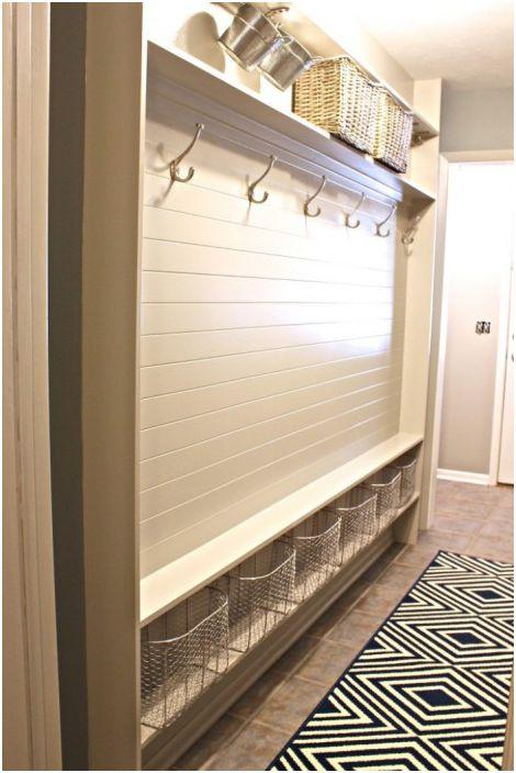 Такива опции са подходящи в интериор, декориран в скандинавски стил.