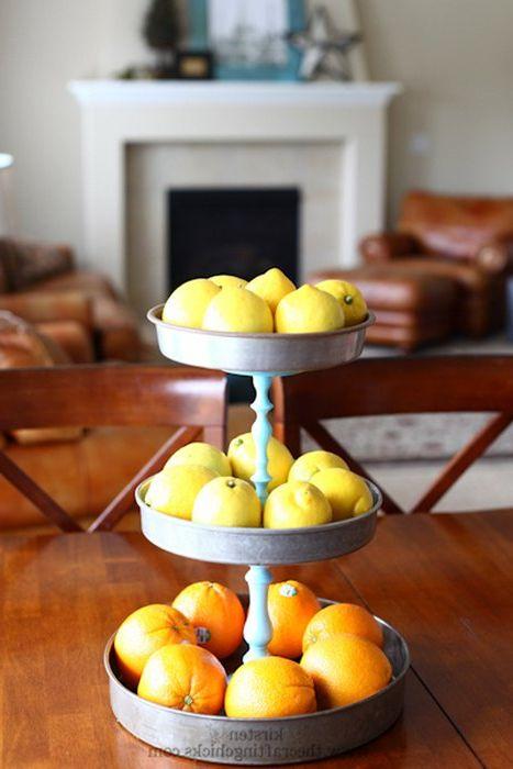 Идея номер 7: лимони и портокали в интериора