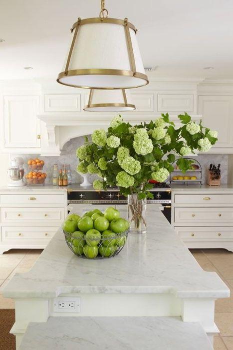 Идея номер 8: зелени ябълки като декоративен елемент