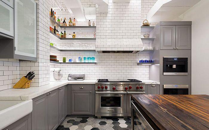 Индустриална ефирна кухня от Matiz Architecture & Design