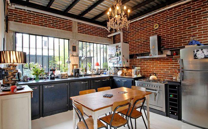 Кухня в индустриален стил от Zoevox