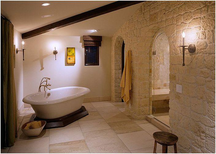 Wnętrze łazienki autorstwa Gordona Gibsona Construction