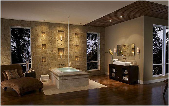 Интериор на банята от Елдорадо Стоун