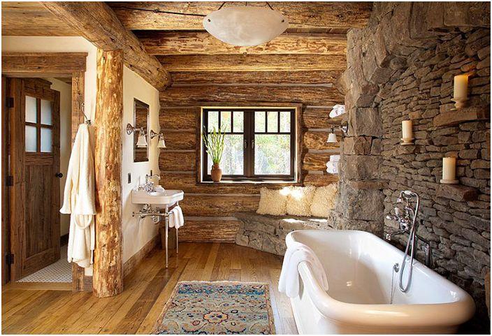 Интериор на банята от Pearson Design Group