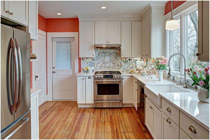 Интерьер кухни в эклектичном стиле от Tracey Stephens Interior Design