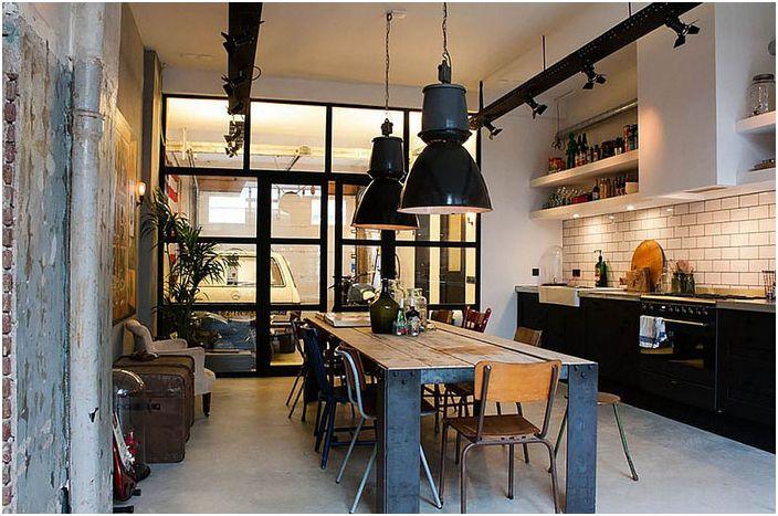 Кухня в эклектичном стиле от Bricks Amsterdam
