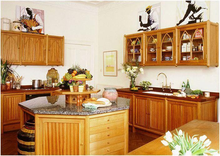 Интерьер кухни от Tim Wood Limited