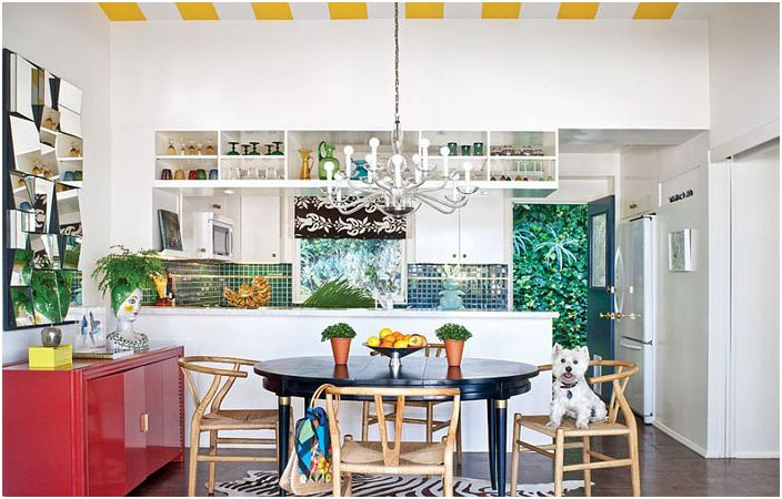 Eclectic Kitchen от California Home + Design