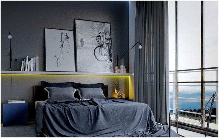 Интериор на спалнята от Саимир Брахо
