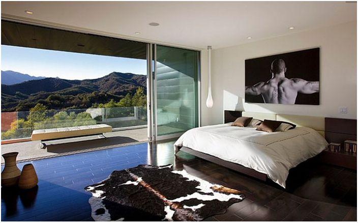 Интериор на спалнята от Abramson Teiger Architects