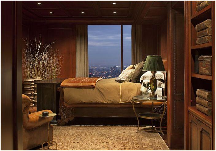 Интериор на спалнята от Greenauer Design Group