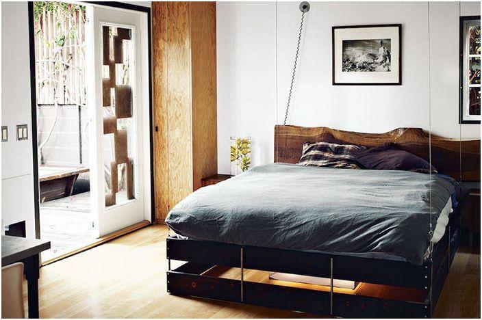 Интериор на спалнята на Vincent Carthaiser