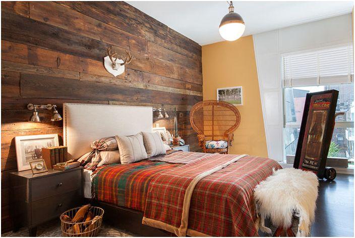 Интериор на спалнята от Well Built Co