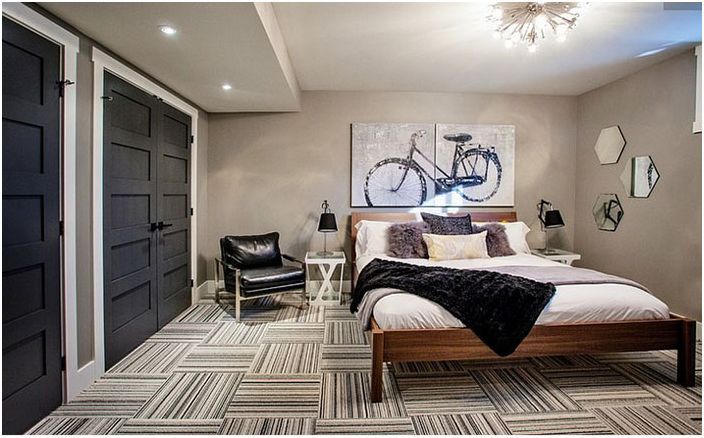 Интериор на спалнята от Madison Taylor Design