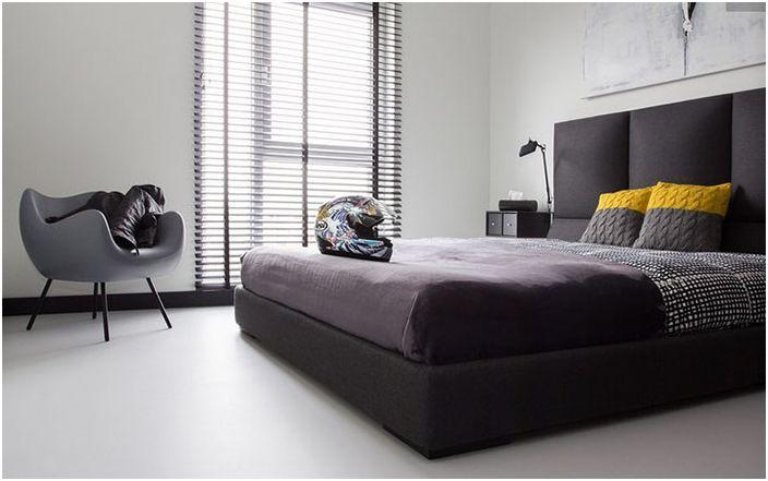 Интериор на спалнята от студио Kasia Orwat