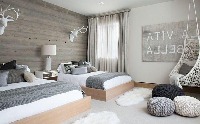 Интериор на спалнята в скандинавски стил от Reed Design Group