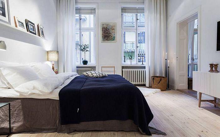 Елегантна спалня в неутрални тонове от Александър Уайт