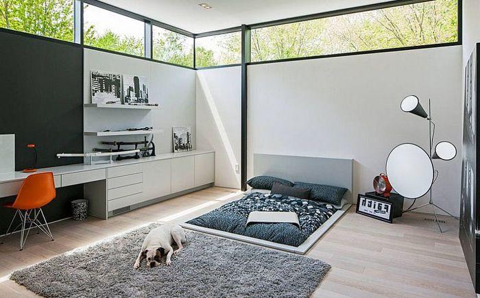 Спалня за любителите на минимализма