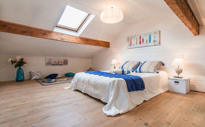 Спалня в скандинавски стил от Катя Яновски
