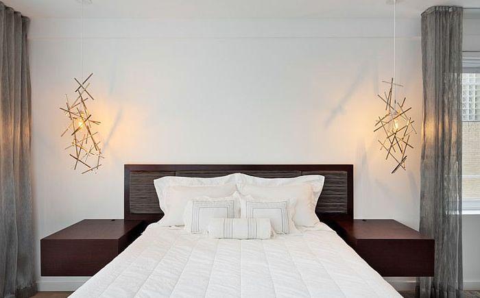 Модерна скандинавска спалня от студио BuiltIN