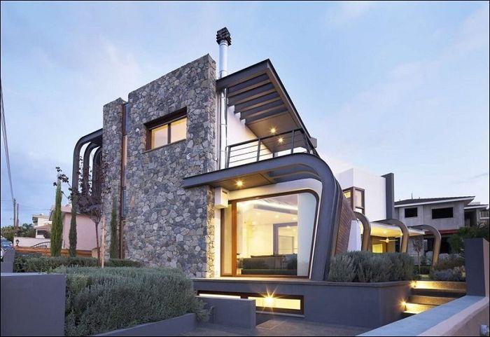 Laiki Lefkothea е двуетажна къща в Кипър.