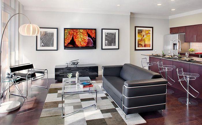 Интерьер гостиной от Paula Ables Interiors
