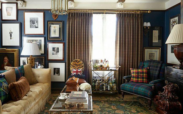 Miesten olohuone, kirjoittanut Scot Meacham Wood Design