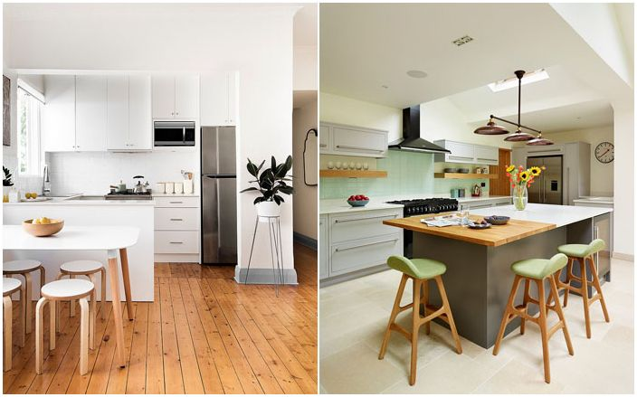 35 модерни кухни в скандинавски стил от най-добрите дизайнери в света