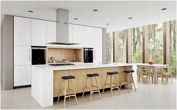 Съвременен минимализъм от Dan Kitchens Australia