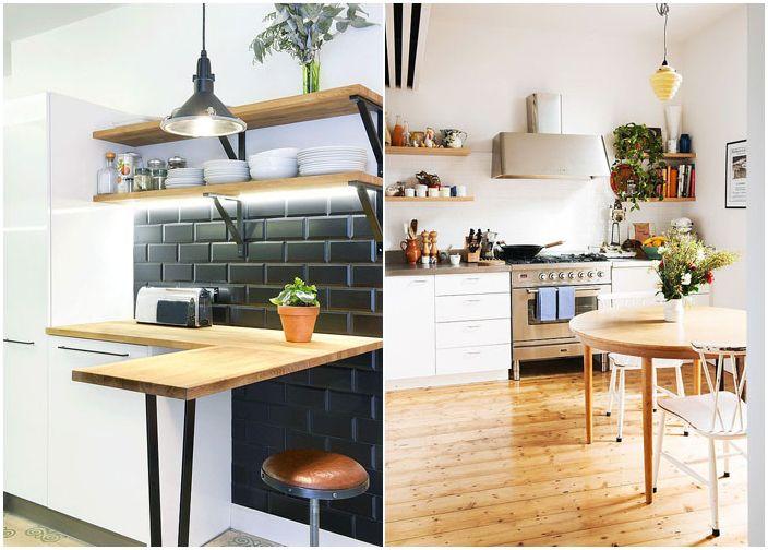Малък кухненски кът от Nest Architects