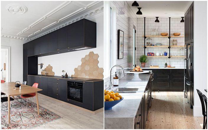 Черен цвят в скандинавски стил