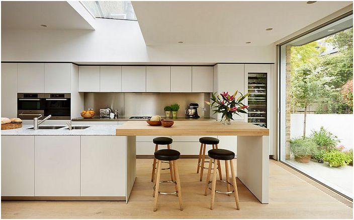 Кухненски интериор в скадинавски стил от Kitchen Architecture