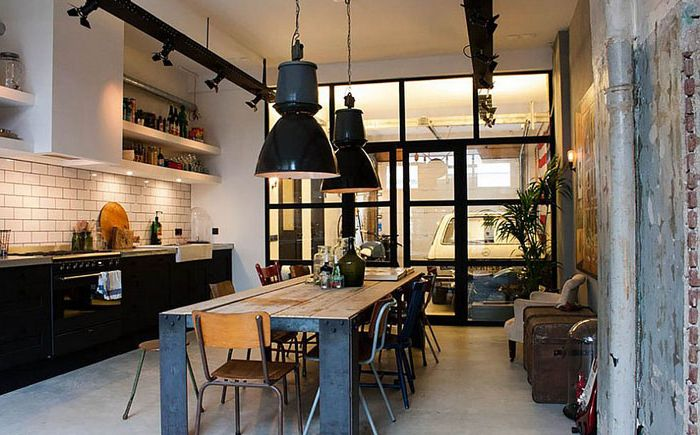 Интерьер кухни от Bricks Amsterdam