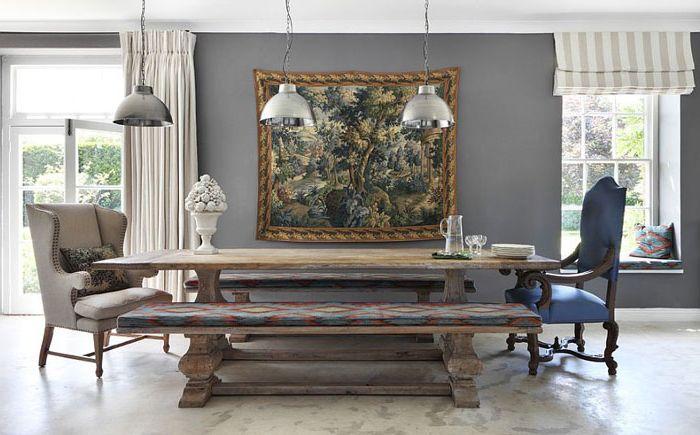 Интерьер столовой от VSP Interiors