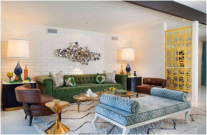 Интериор на хола от Joel Dessaules Design