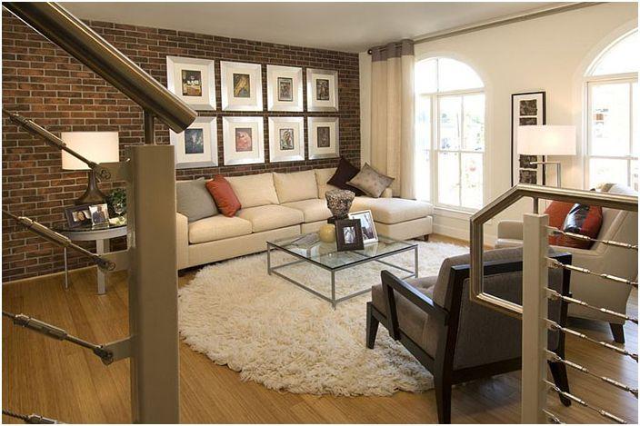 Интериор на хола от Carlyn и Company Interiors + Design