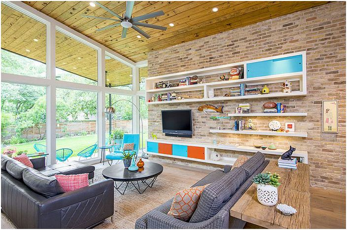 Интериор на хола от Christen Ales Interior Design