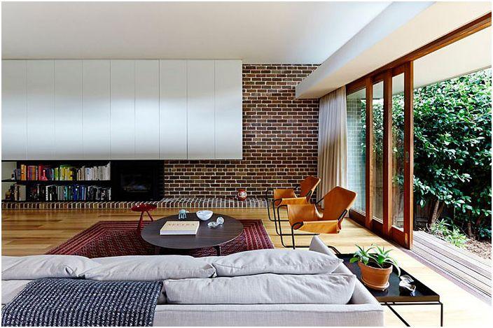 Интериор на хола от Downie North Architects