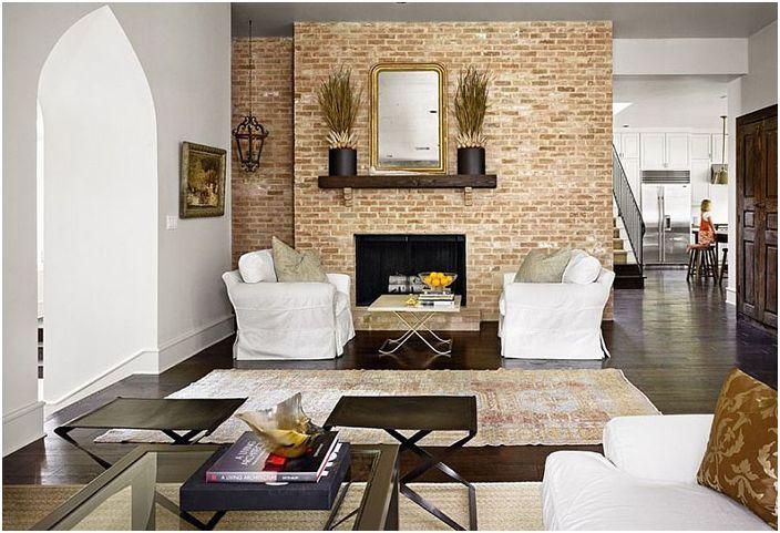 Интериор на хола от Hugh Jefferson Randolph Architects