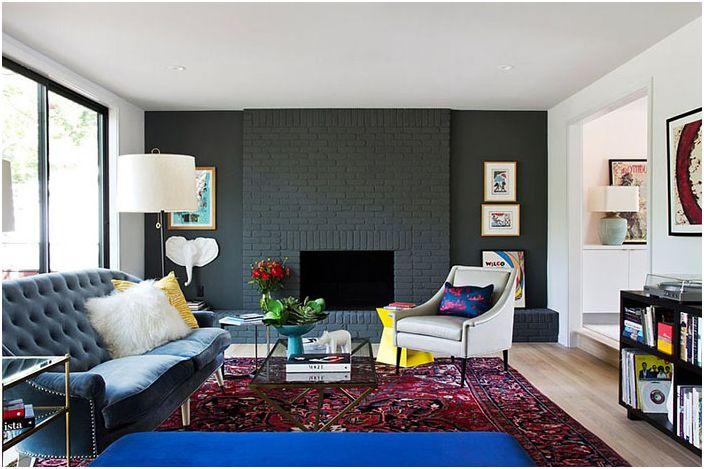 Интериор на хола от Stuart Sampley Architect
