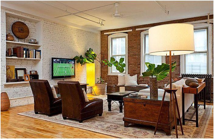 Интериор на хола от Helaina Bernstein Design