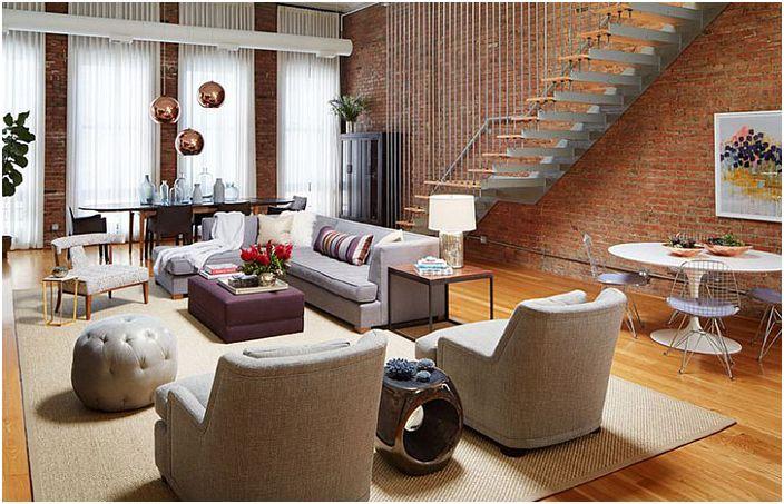 Интериор на хола от Jessica Lagrange Interiors