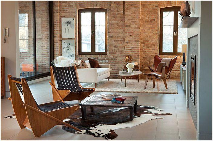 Интериор на хола от MRSA Architects & Planners