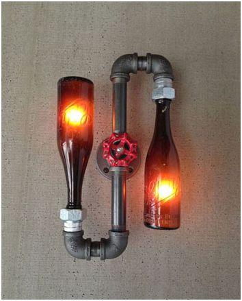 лампа за бутилка