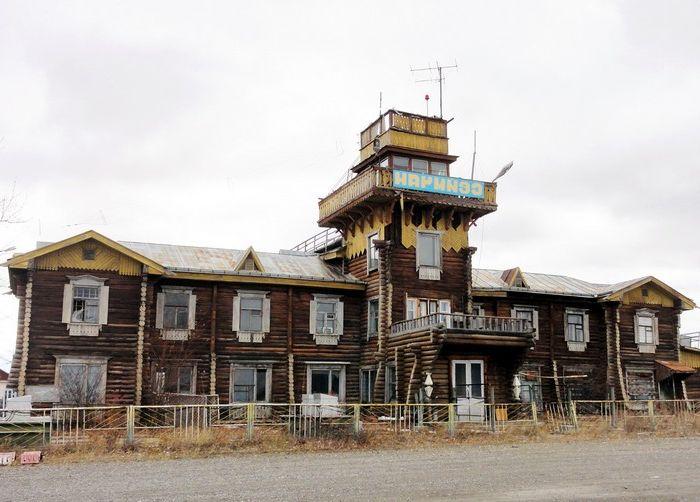Летище Сеймчан в Магаданска област на Русия