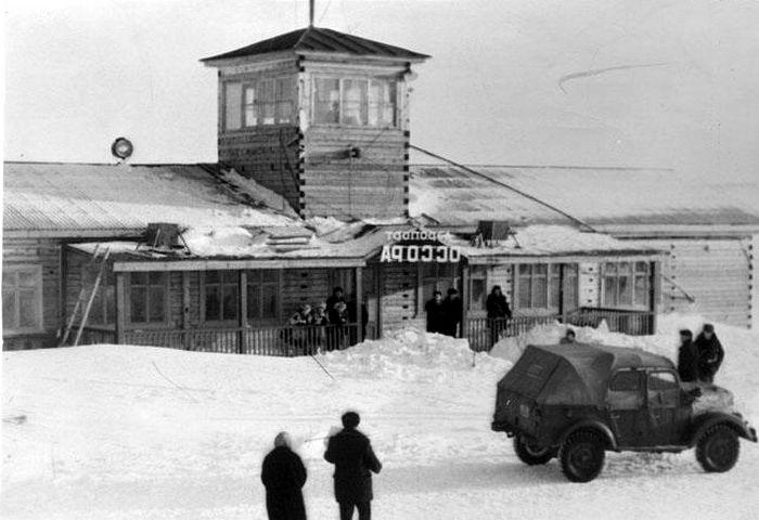 Архивна снимка на летището на Осор в Камчатка